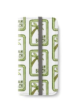 """Palm Beach"" iPhone Wallets by bubbliciousart 