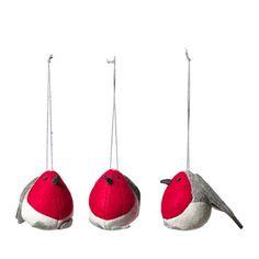 IKEA - VINTER 2016, Hengende - Red Robin Christmas Tree Decoration