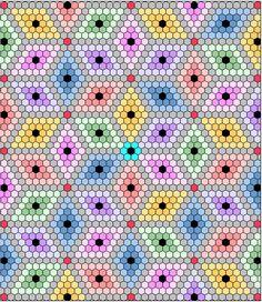 I'm Not Martha - hexagon quilt design