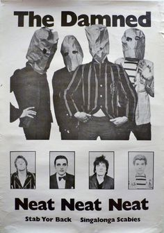 No Stiff logo. 70s Punk, Punk Goth, Music Covers, Album Covers, The Damned Band, Proto Punk, Punk Poster, Band Posters, Pop Posters