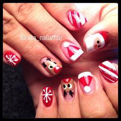 christmas by a_nailaffair  #nail #nails #nailart