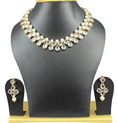 White Pearl Kundan Party Wear Women & Girls Bollywood Ind... https://www.amazon.com/dp/B06XQMFFXP/ref=cm_sw_r_pi_dp_x_NuomzbKF5WBQC