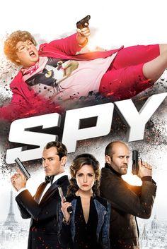 Spy Movie Poster - Melissa McCarthy, Jason Statham, Rose Byrne #MoviePoster…