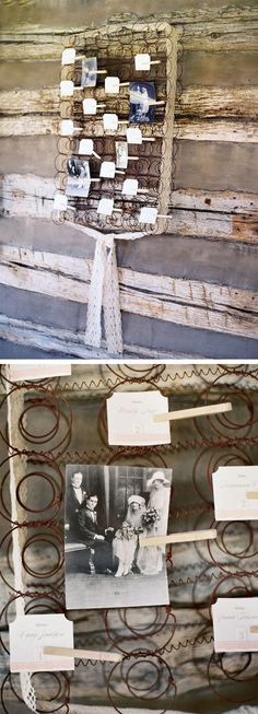 Great idea for old rusty boxsprings... which we have a lot of.