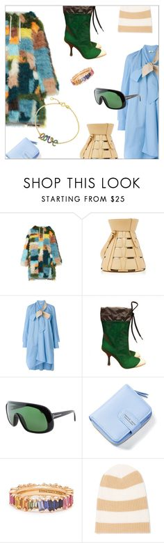 """Fell into a rainbow"" by laste-co ❤ liked on Polyvore featuring Rosie Assoulin, Fendi, Miu Miu, Tom Ford, Autumn Cashmere and Bling Jewelry"