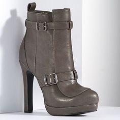 Simply Vera Vera Wang High Heel Booties - Women