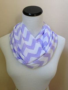 NO. 1 Infinity Scarf Lavender by oneforonecreations on Etsy, $18.00 measurement 60 x 9 inch