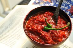 Sambal Manis (Indonesian chili salsa) To make sambal yourself is super easy. You can decide how spicy you like it or how much you want to make. Today I make extra because I want to use my sambal in Lalab with Cabbage (Lalab Kubis).