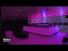 i wish i had the money to do this Smack Nightclub - LED Room Red Bedroom Design, Bedroom Red, Night Club, Night Life, Nightclub Design, Grown Up Parties, Delivery Room, Led Light Box, Light Images