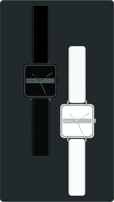 """One Way ""  wrist watch design by Abhinav Misra . Minimalist, contemporary , modern"