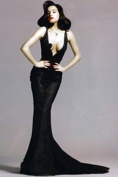 Dita Von Teese for Harper's Bazaar Japan September 2007