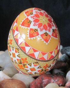 Duck Egg Pysanka 2012  by Katrina Lazarev
