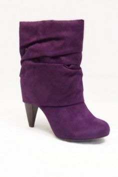 Pretty Purple Boots