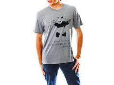Respect the Panda – Classic Grey