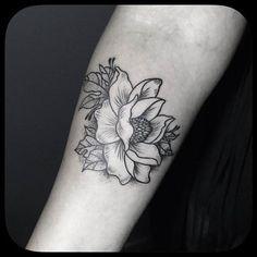Mama's Boy Tattoo - Design of Tattoo Parlor İlhan Bilir / Nişantaşı İstanbul, Turkey / Instagram: ilhan_bilir / Magnolia Flower Tattoo