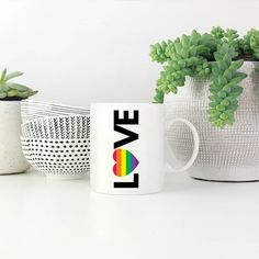 It's Pride month in Jozi  get a mug to show your support!  Available at snatchthatdeal.com in plain white or black&white mugs. Rupaul, Pride, Black And White, Mugs, Beautiful, Black N White, Black White, Tumblers, Mug