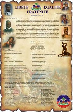 Picture of all our heroes. 11/18/13 was 210 years since the battles of Vertiere. Haiti's last battle against the French for independence.