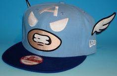 Tokidoki Captain America Wings New Era Cap 9Fifty Snapback Hat Marvel DC Comics