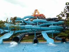 Kediri Waterpark merupakan wisata air terbesar di Jawa Timur, resmi dibuka untuk umum sejak 18 Juni 2014. Destinasi ini sangat istimewa karena memiliki water slide terpanjang se-Asia, yakni sepanjang 206 meter di ketinggian 350 m dpl. Dengan demikian,...