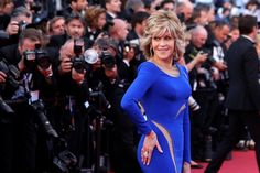 jane fonda 2015 pictures | Actress Jane Fonda poses for photographers upon arrival for the ...