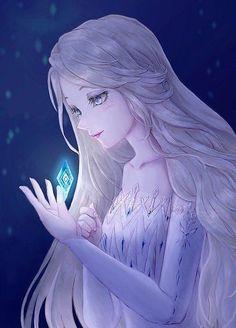 Cute Disney Drawings, Disney Princess Drawings, Disney Princess Pictures, All Disney Princesses, Disney Princess Frozen, Anime Princess, Elsa Anime, Dessin Animé Lolirock, Studio Ghibli Films