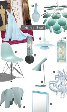 Love this color. Inspired by Nairobi Blue