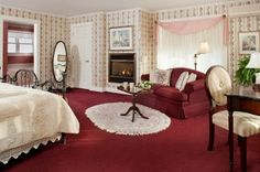The Shadowood Burgundy Room