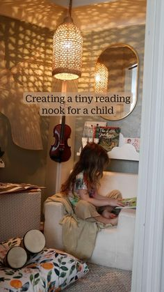 Big Girl Rooms, Boy Room, Kids Bedroom, Bedroom Decor, Kid Spaces, Reading Nook, My New Room, My Dream Home, Home Projects