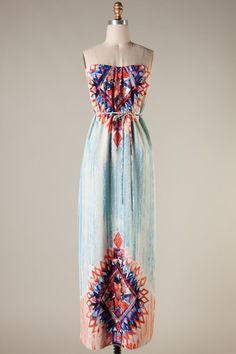 Spring Maxi Dress #swoonboutique