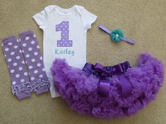 Hey, I found this really awesome Etsy listing at https://www.etsy.com/listing/224084991/baby-girl-1st-birthday-outfit-purple