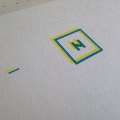 two  colour silkscreen printed flyer
