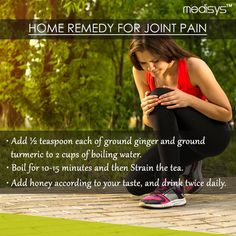 #Medisys #FitTips :- #Home #Remedy for #Joint #Pain