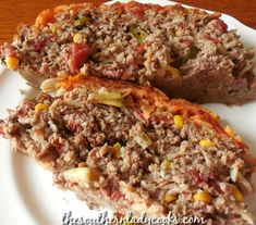 Mexican meatloaf is a comfort food recipe your family and guests will enjoy. If you like Mexican food, you will like this versatile recipe you can adjust to your liking by making it hot or mild and using spices of your choice. Taco Meatloaf, Mexican Meatloaf, Italian Meatloaf, Meatloaf Recipes, Mexican Dishes, Mexican Food Recipes, Mexican Meals, Brown Rice Cooking, Great Recipes