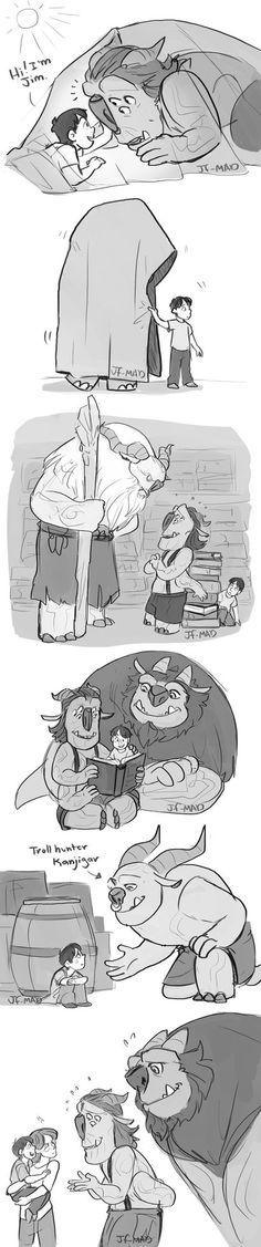 TRollHunters-Under Sunlight by MadJesters1