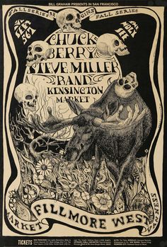 ☮ American Hippie Music ☮ Chuck Berry / The Steve Miller Band