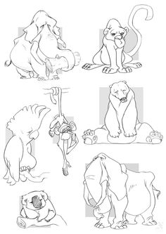 by ~XAV-Drawordie || CHARACTER DESIGN REFERENCES | Find more at https://www.facebook.com/CharacterDesignReferences if you're looking for: #line #art #character #design #model #sheet #illustration #best #concept #animation #drawing #archive #library #reference #anatomy #traditional #draw #development #artist #how #to #tutorial #conceptart #modelsheet #animal #animals