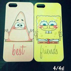 Patrick star best case, sponge bob square pants friends case