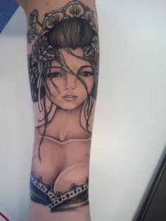 Geisha Tattoo | Tattoo Designs Uk Men: Geisha Tattoo Designs