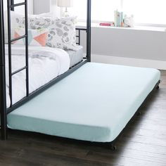 You'll love the Twin Roll-Out Trundle Bed Frame at Wayfair - Great Deals on all Furniture products with Free Shipping on most stuff, even the big stuff.
