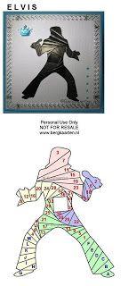 Elvis Iris Fold Card