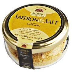 Ritrovo Selections Casina Rossa Saffron Salt - 3.5 oz Italian sea salt with safron. Balsamic Vinegar Of Modena, Natural Spice, Italian Spices, Truffle Oil, Best Appetizers, Drying Herbs, Gourmet Recipes, Italian Recipes, Sea Salt
