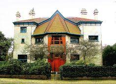Villa by architect Henry van de Velde (1863-1957) by corinne