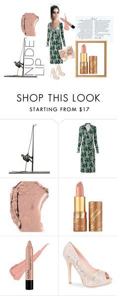 """Revealing"" by cschorr-1 on Polyvore featuring beauty, Global Views, Diane Von Furstenberg, Dolce&Gabbana, tarte, Lauren Lorraine and Oscar de la Renta"