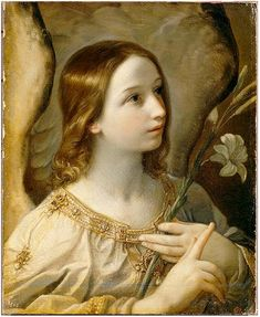 L'archange Gabriel, huile sur toile de Guido Reni, Palais Impérial de Pavlovsk, Saint-Petersbourg.