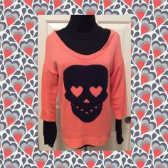 Check out SKULL  Sweater on Threadflip!
