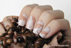 Lace Nail Art Designs nails design nails featured  | See more at http://www.nailsss.com/colorful-nail-designs/2/