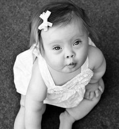 Beautiful baby girl w/ Down Syndrome ♥