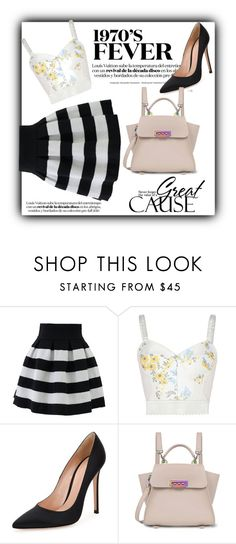 """""""Untitled #108"""" by bgirl20 ❤ liked on Polyvore featuring Chicwish, STELLA McCARTNEY, Gianvito Rossi and ZAC Zac Posen"""