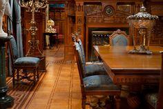 Dining Room, Nickerson-Era Table, The Richard H. Driehaus Museum