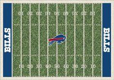 Buffalo Bills Home Field Area Rug